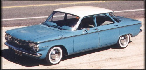 1960 Corvair 700 sedan (30222 bytes)