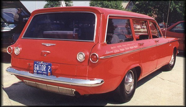 1961 Corvair 700, Lakewood wagon
