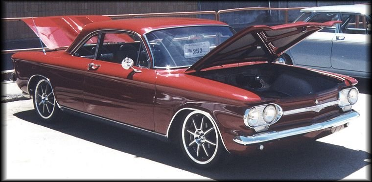 1964 Corvair club coupe