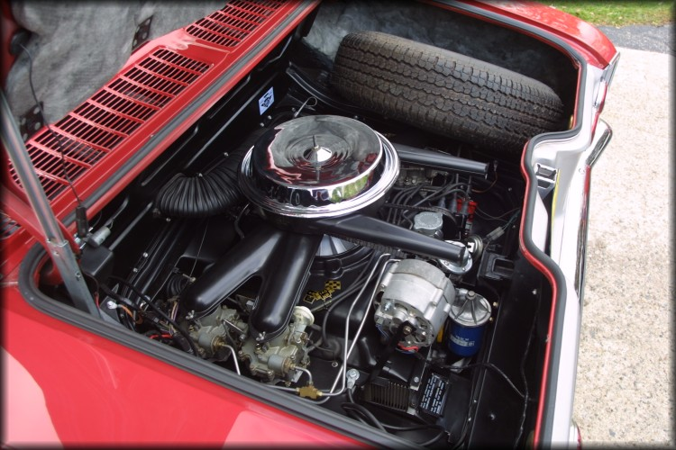 Corvair Corsa - 140 horsepower engine