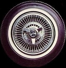 Corvair wire wheel covers
